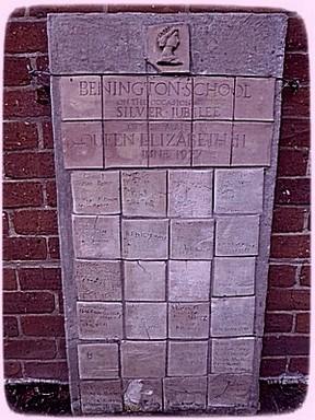Silver Jubilee memorial display